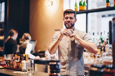 Manuel Vehí, barman del Hotel Único de Madrid