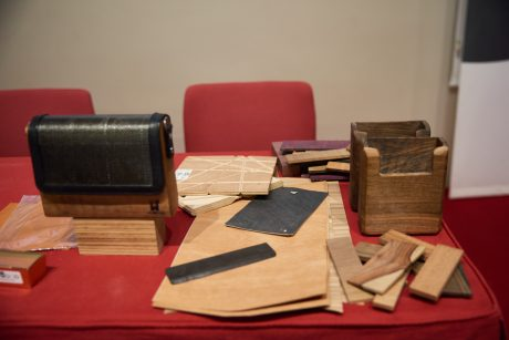 Materiales para confeccionar los bolsos Lauwood
